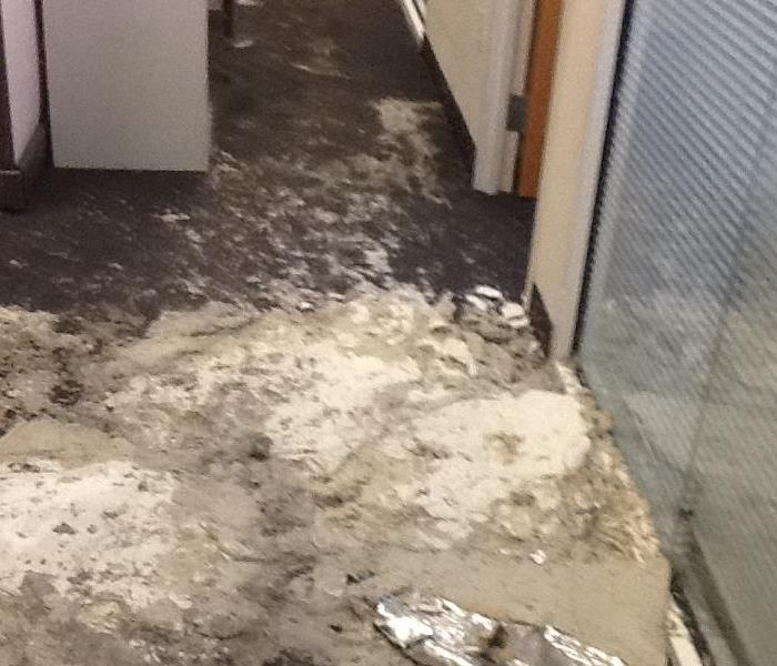 Water Damage Corporate Office in Doral, FL Before